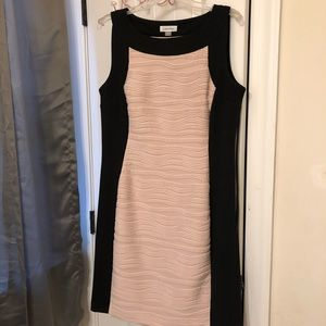 Calvin Klein Size 12 fitted Dress